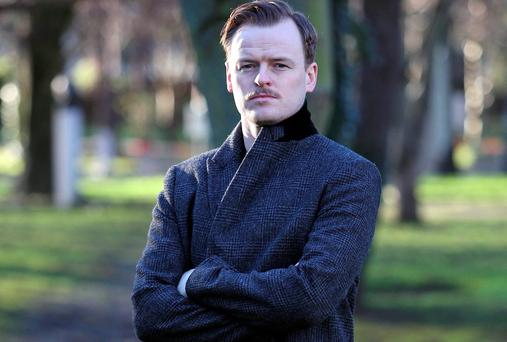 Paul Reid who plays Stephen in RTE drama Rebellion. Picture:Colin Keegan/Collins Dublin