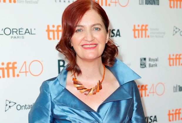 Writer Emma Donoghue attends the