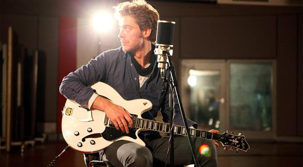 Singer Tom Dunne at Windmill Lane Sessions, Dublin