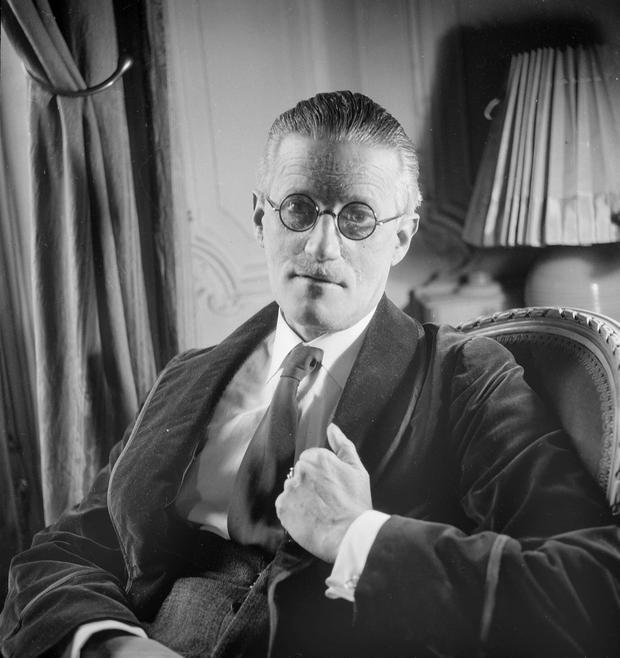 James Joyce pictured in Paris in 1934. Photo: Lipnitzki/Roger Viollet/Getty Images.