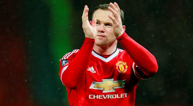 Wayne Rooney: on target from the penalty spot. Photo: Reuters