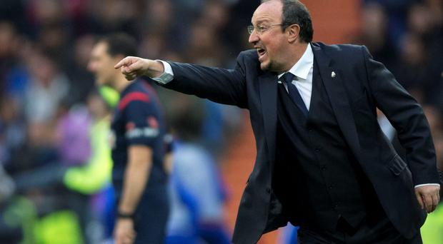 'Rafael Benitez's record at Real Madrid isn't quite so clear cut as many would suppose' Photo:Getty