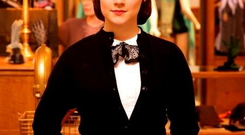 Saoirse Ronan...This photo provided by Fox Searchlight shows Saoirse Ronan as Eilis in a scene from the film,