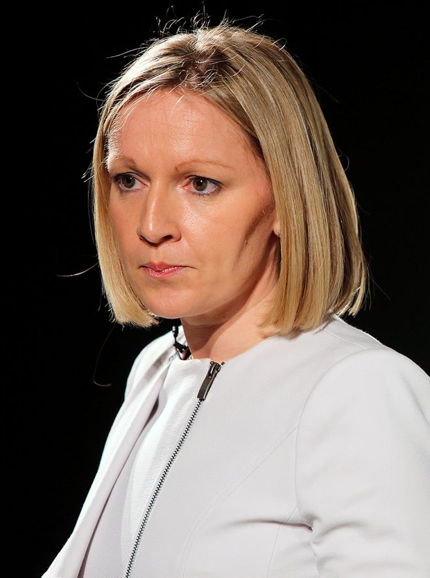 Lucinda Creighton pictured at the launch of the new Renua parrty in Trinity College. Picture; GERRY MOONEY. 13/3/15