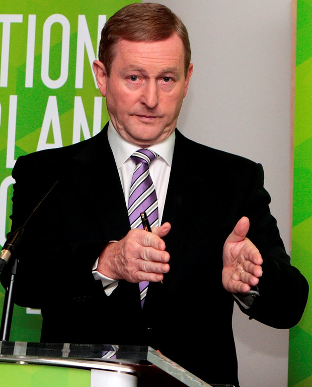 Taoiseach: Enda Kenny Photo: Tom Burke