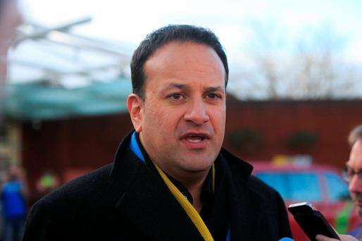 Hubristic Minister for Health Leo Varadkar Photo:Gareth Chaney Collins