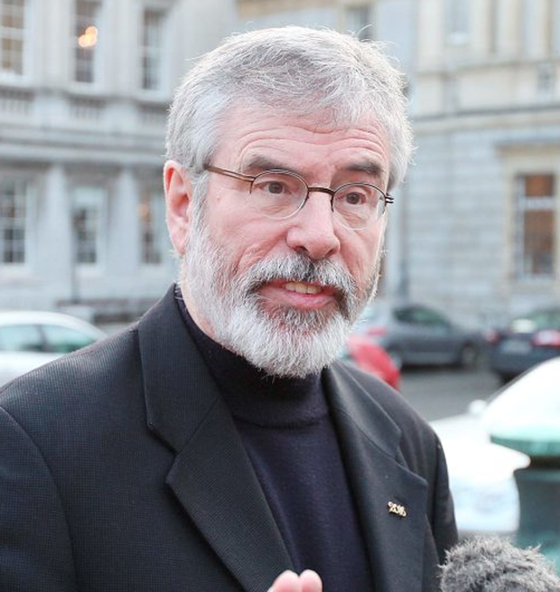 Sinn Fein President Gerry Adams Photo: Stephen Collins/Collins Photos