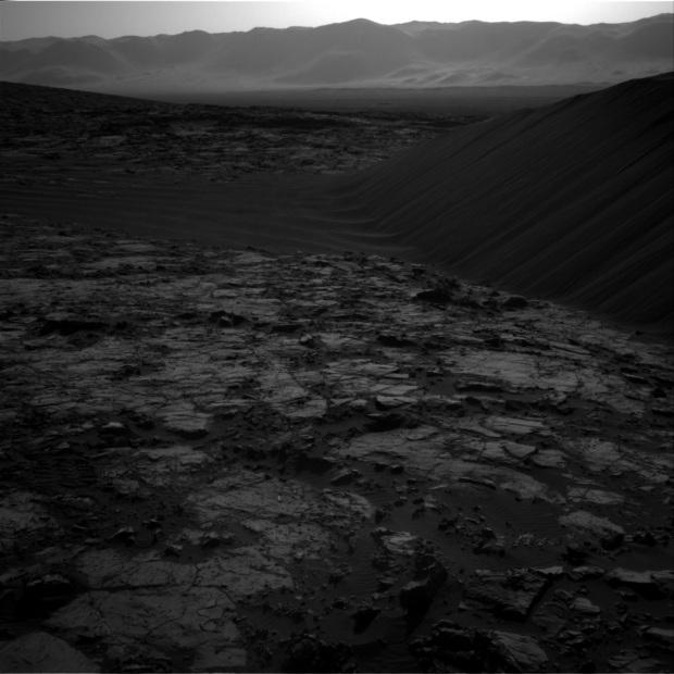 Another shot of the sand dunes on Mars Credit: NASA