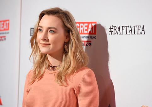 Saoirse Ronan arrives at the BAFTA Awards Season Tea Party at the Four Seasons on Saturday, Jan. 9, 2016, in Los Angeles. (Photo by Jordan Strauss/Invision/AP)