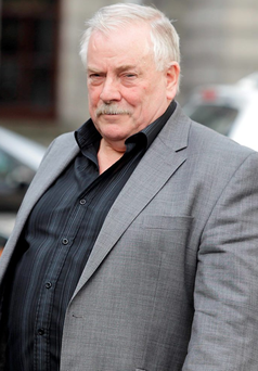 Developer and former IRA hunger striker Tom McFeely Photo: Collins Courts