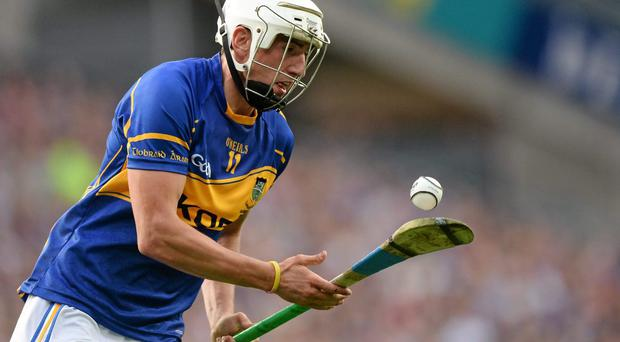 Patrick 'Bonner' Maher put Tipperary on the road to victory with an early goal. Photo: Piaras Ó Mídheach / Sportsfile