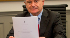 Public Expenditure Minister Brendan Howlin Photo: Mark Condren
