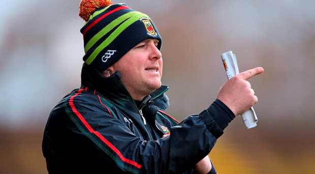 Stephen Rochford, Mayo manage. Picture credit: David Maher / Sportsfile