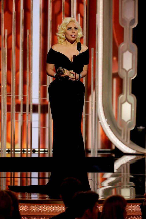 Lady Gaga speaks after winning Best Actress - Limited Series or TV Movie for her performance in