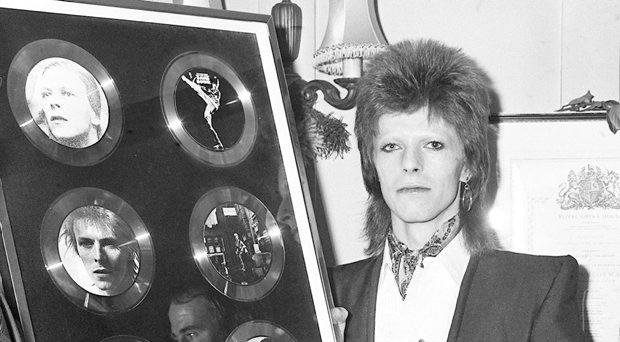 File photo dated 31/12/1973 of David Bowie, who has died following an 18-month battle with cancer. PRESS ASSOCIATION Photo. Issue date: Monday January 11, 2016