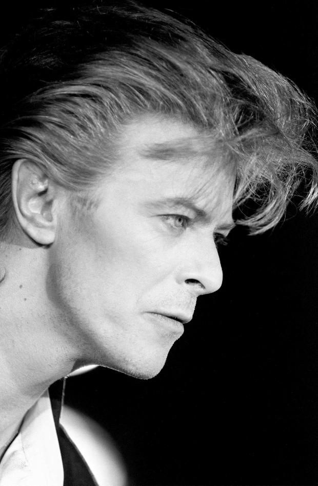 File photo dated 10/04/87 of David Bowie, who has died following an 18-month battle with cancer