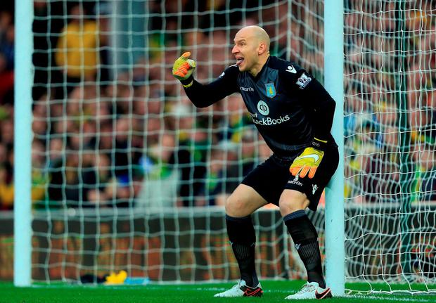 Brad Guzan is one of the players alleged to have been involved in the incident