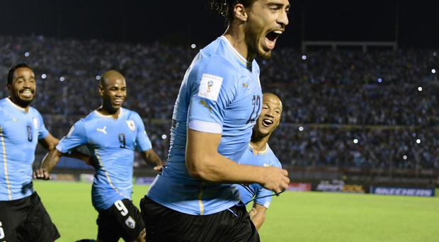 Uruguay defender Martin Caceres is a reported transfer target for Liverpool