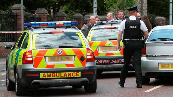 The man was attacked in Toomebridge