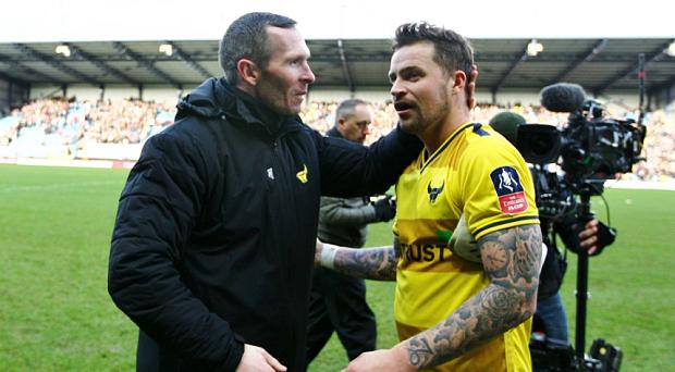 Giant killers Oxford have been handed a home draw in the fourth round of the FA Cup where they will meet the winners of Newport County and Blackburn Rovers