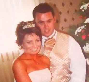Jason Corbett with his first wife, Mags