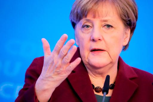 German chancellor Angela Merkel. AFP/Fredrik von Erichsen/Getty Images