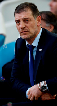 Slavan Bilic: 'Bournemouth had a lot of injuries and have done well to maintain good results without those players, but they have probably been waiting for this transfer window' Photo: PA