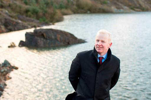 SIGA Hydro managing director Darren Quinn at the site of the planned hydroelectric plant in Silvermines, Co Tipperary. Photo: Sean Curtin/Fusionshooters