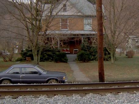 The house as featured in Silence of the Lambs in 1991