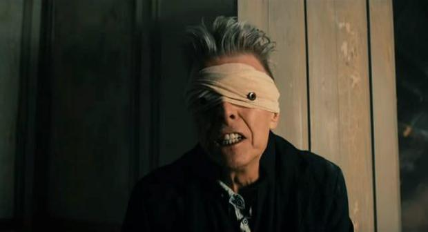 David Bowie in the Blackstar video