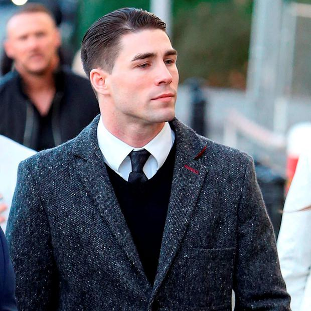 Boxer Jamie Cox arrives at Croydon Magistrates' Court in south London. Photo: Steve Parsons/PA Wire