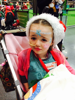 Caoimhe Costigan (6) is fighting acute lymphatic leukaemia.