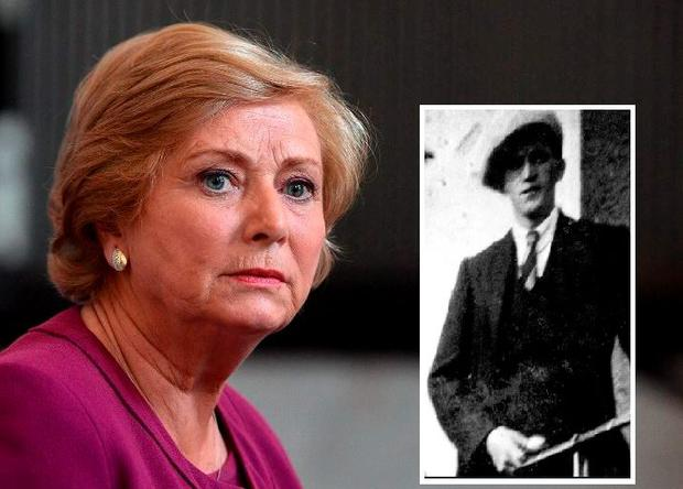 Justice Minister Frances Fitzgerald (Inset: Henry 'Harry' Gleeson)