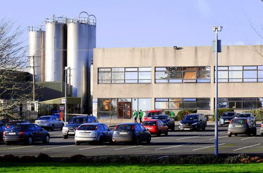 The C&C plant in Borrisoleigh, Tipperary. Photo: Fergal Shanahan