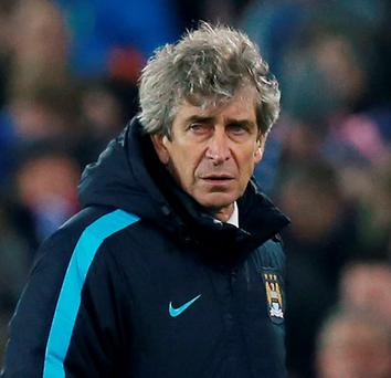 Manchester City manager Manuel Pellegrini. Photo: Andrew Yates / Reuters