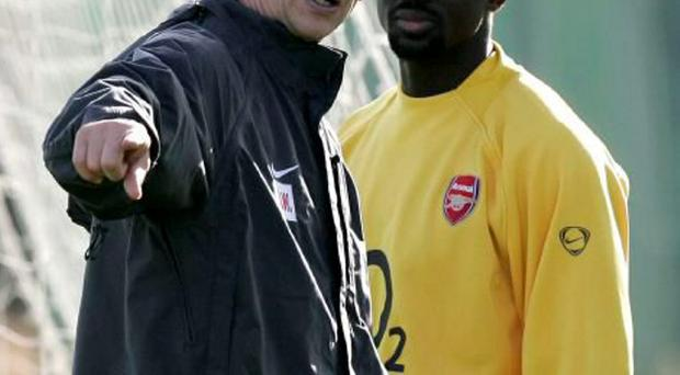 Kolo Toure insists Arsene Wenger improved him as a player. Photo: Kirsty Wigglesworth/AP Photo
