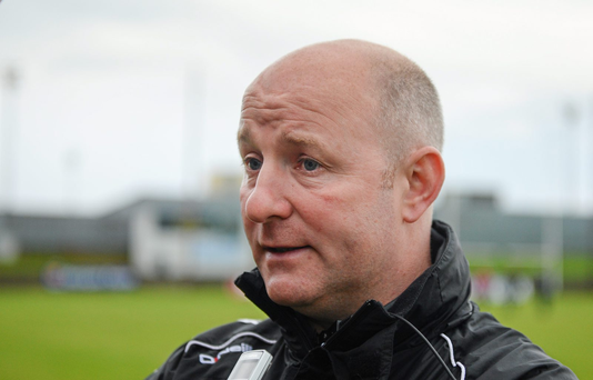 Louth manager Colin Kelly (SPORTSFILE)