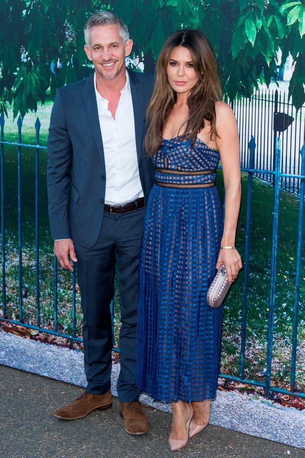Gary Lineker and Danielle Lineker attend the Serpentine Gallery Summer Party at The Serpentine Gallery on July 2, 2015 in London, England. (Photo by Ian Gavan/Getty Images)