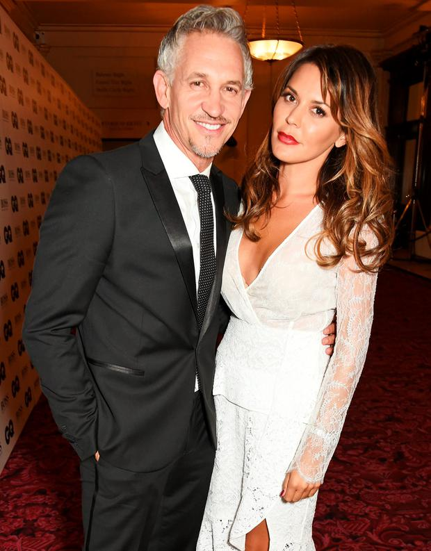 Gary Lineker (L) and Danielle Lineker attend the GQ Men Of The Year Awards after party at The Royal Opera House on September 8, 2015 in London, England. (Photo by David M. Benett/Dave Benett/Getty Images)