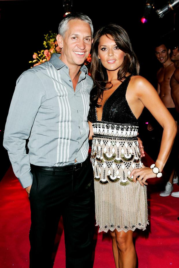 Gary Lineker and Danielle Bux attend the afterparty following the world premiere of 'Sex And The City' at Old Billingsgate on May 12, 2008 in London, England. (Photo by Claire Greenway/Getty Images)