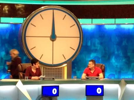 Mark Murray appearing on Countdown in 2014 Credit: Mark Murray