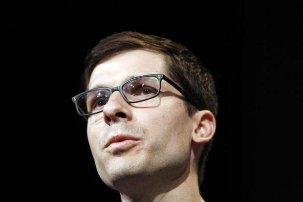 Clay Bavor, director of product management of Google Apps, speaks on stage during Google I/O Conference at Moscone Center in San Francisco, California June 28, 2012. REUTERS/Stephen Lam/Files