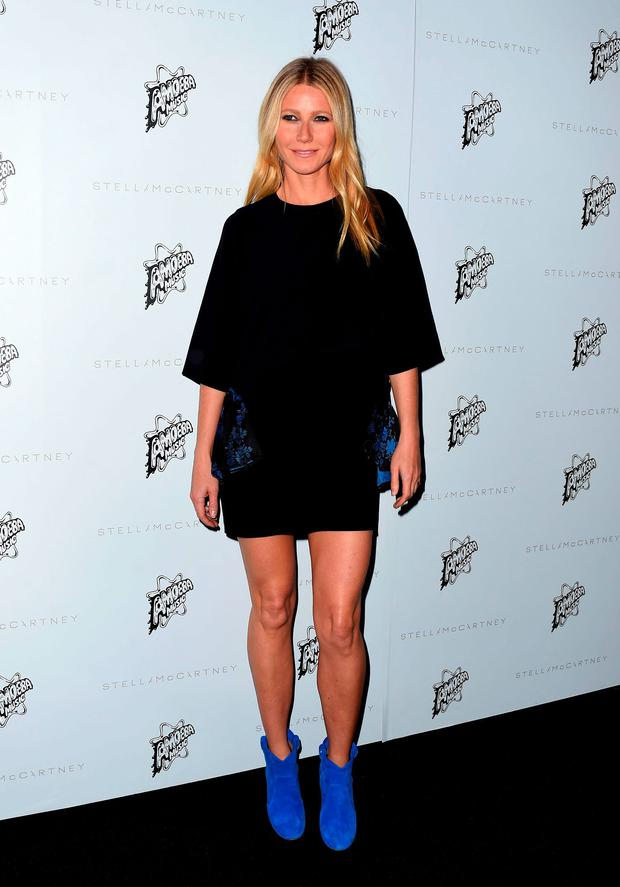 Actress Gwyneth Paltrow attends the Presentation of the new Stella McCartney Autumn 2016 Collection with live surprise musical performances at Amoeba