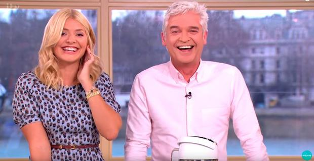 Holly Willoughby and Philip Schofield on This Morning
