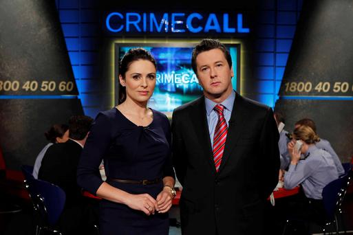 Grainne Seoige and Philip Boucher Hayes present Crimecall