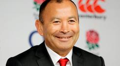 Eddie Jones has performed radical surgery in naming his first England squad, omitting nine of the World Cup squad: Henry Browne / Reuters