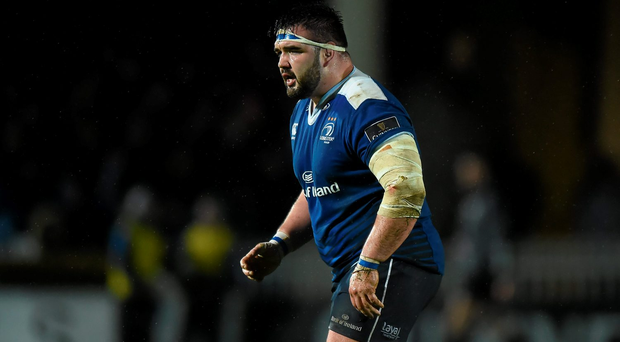 Marty Moore is set to follow Ian Madigan out of Leinster, though England will be his destination: Brendan Moran / Sportsfile