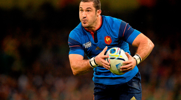 New restrictions will see a reduction in the number of overseas-born players like Scott Spedding playing for France. Picture credit: Brendan Moran / Sportsfile