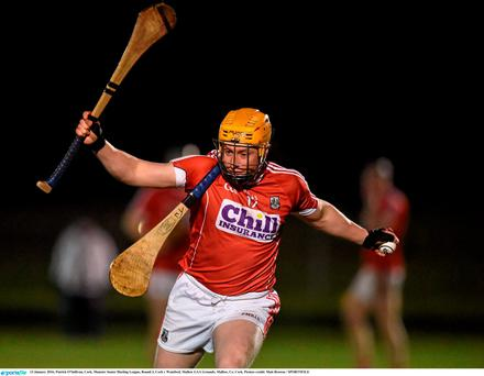 13 January 2016; Patrick O'Sullivan, Cork. Munster Senior Hurling League, Round 3, Cork v Wateford, Mallow GAA Grounds, Mallow, Co. Cork. Picture credit: Matt Browne / SPORTSFILE