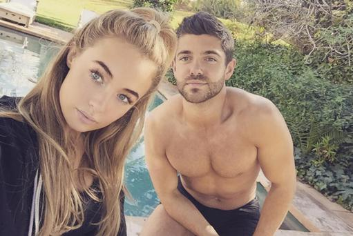 Nicola Hughes and Alex Mytton in Morocco. Picture: Instagram